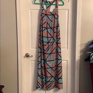 Dresses & Skirts - *price drop! Printed maxi dress medium
